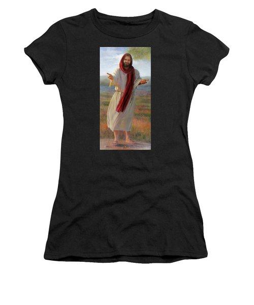 Come Unto Me Full-length Women's T-Shirt