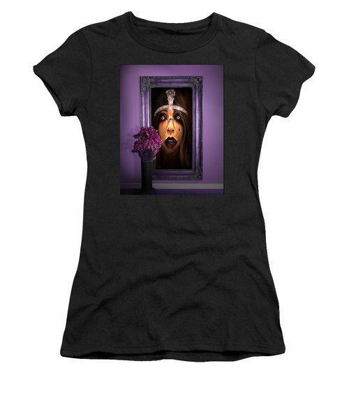 Come With Me, If You Dare Women's T-Shirt (Athletic Fit)