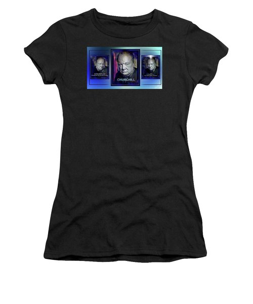 Cometh The Hour . . .  Women's T-Shirt (Athletic Fit)