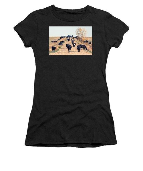 Coming Down The Road Women's T-Shirt