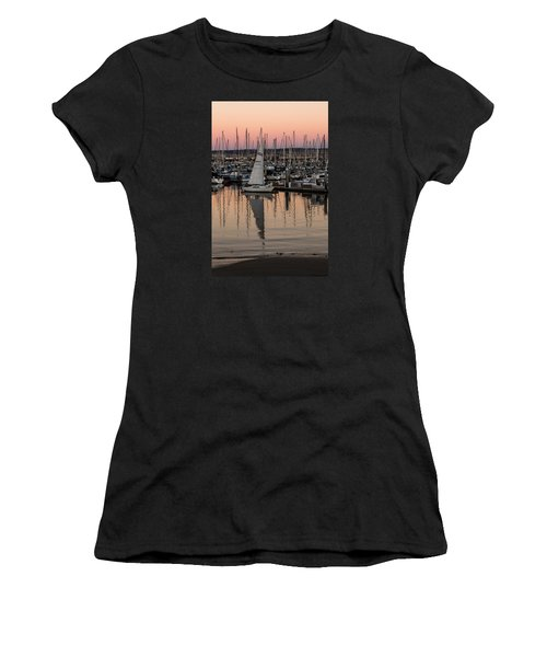 Coming Into The Harbor Women's T-Shirt (Athletic Fit)