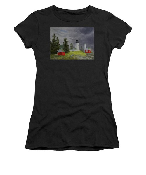 Coming Storm Women's T-Shirt (Athletic Fit)