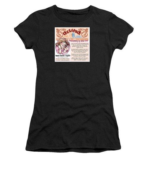 Real Fake News Lnspirational Column 2 Women's T-Shirt