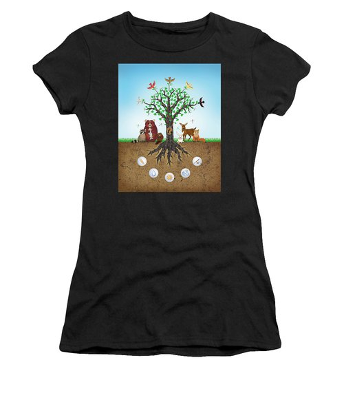 Common Ground Women's T-Shirt (Athletic Fit)