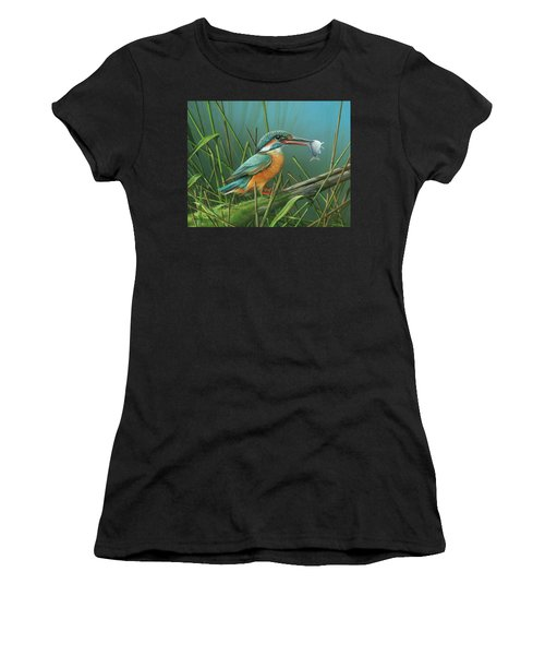 Common Kingfisher Women's T-Shirt