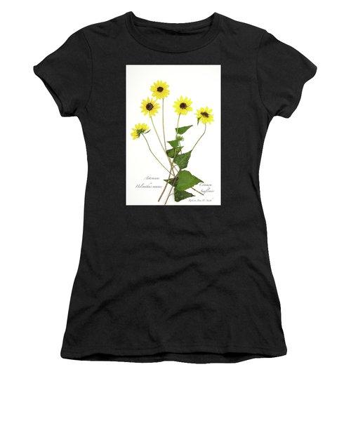 Common Sunflower Women's T-Shirt (Athletic Fit)