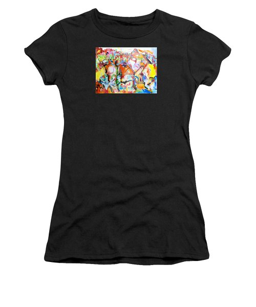 Complicated Landscape Women's T-Shirt (Athletic Fit)