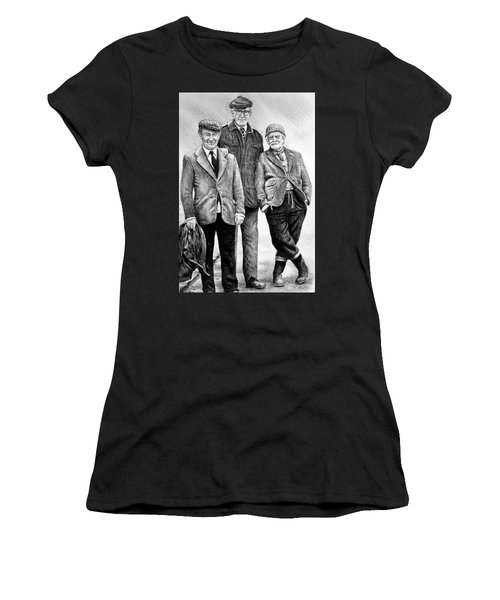 Compo Clegg And Foggy 2 Women's T-Shirt (Athletic Fit)