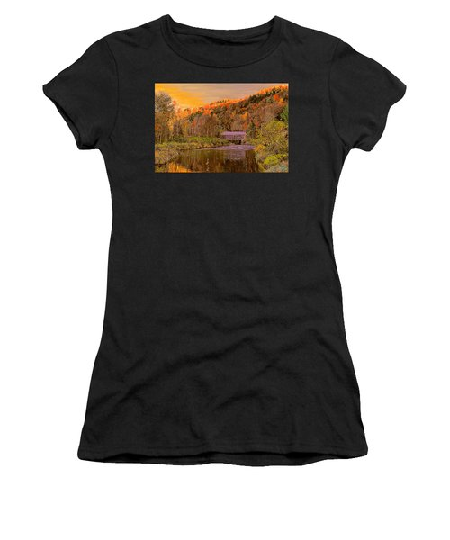 Comstock Bridge Women's T-Shirt (Athletic Fit)