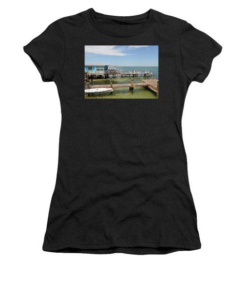 Conch Key Blue Cottage Women's T-Shirt