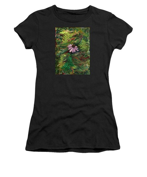 Coneflower Women's T-Shirt (Athletic Fit)