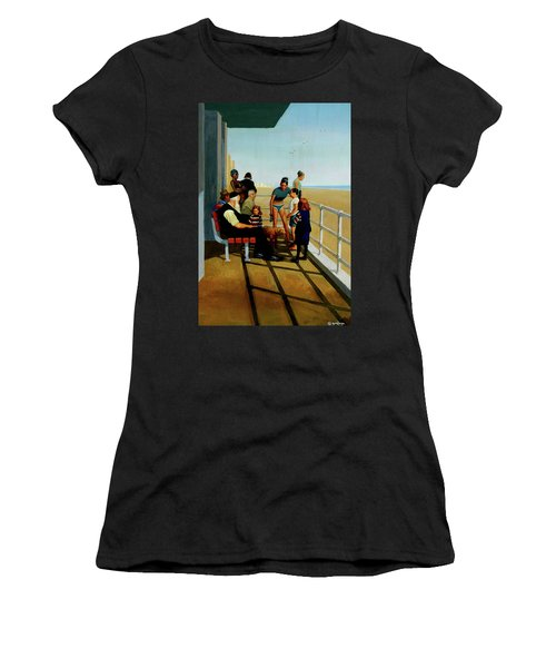 Coney Island Women's T-Shirt (Athletic Fit)
