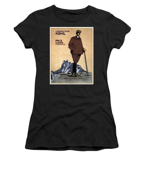 Confection Kehl - Men's Clothing - Vintage Advertising Poster Women's T-Shirt