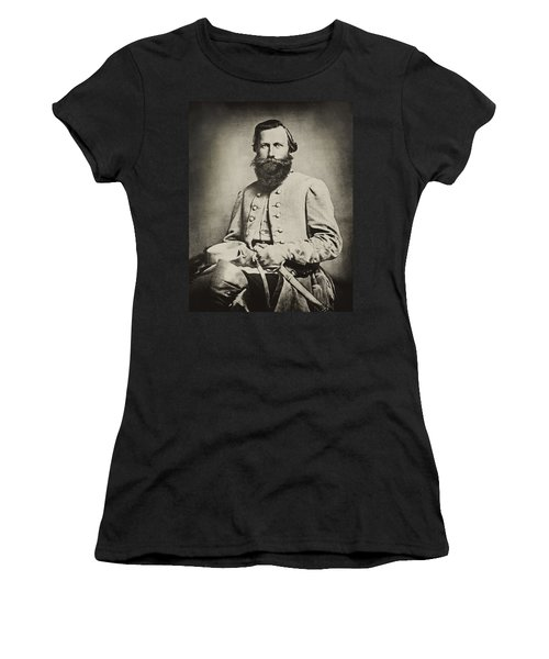 Confederate Jeb Stuart Women's T-Shirt (Junior Cut) by Paul W Faust -  Impressions of Light