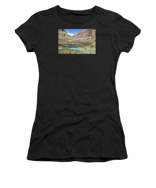 Confluence Of Colorado And Little Colorado Rivers Grand Canyon National Park Women's T-Shirt (Athletic Fit)
