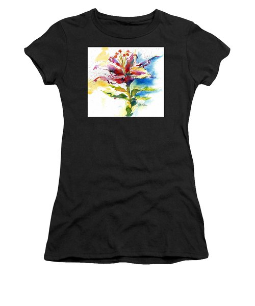 Consider The Lily Women's T-Shirt (Athletic Fit)