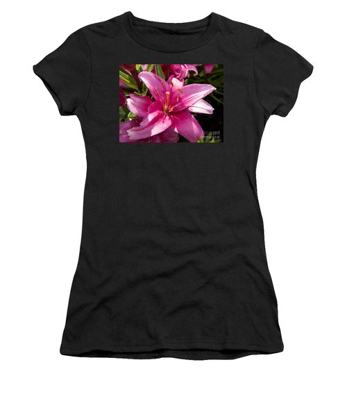 A Lily Speaks Of Love In The Language Of The Heart Women's T-Shirt