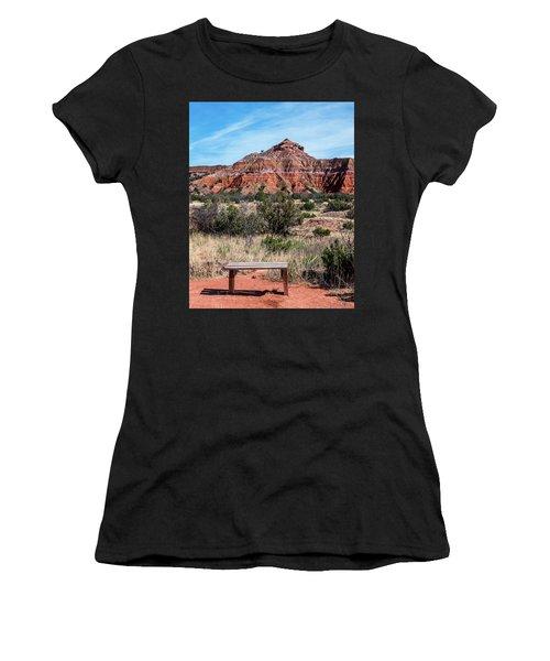 Contemplation Bench Women's T-Shirt