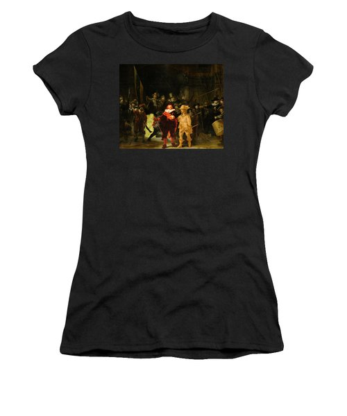 Contemporary 1 Rembrandt Women's T-Shirt (Athletic Fit)