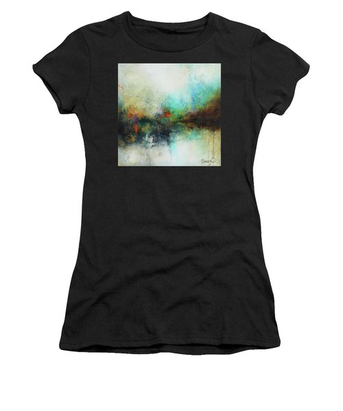 Contemporary Abstract Art Painting Women's T-Shirt