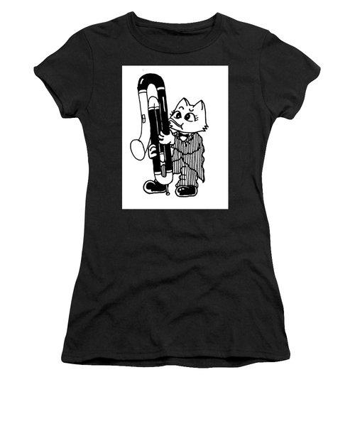Contra Bassoon Cat Women's T-Shirt