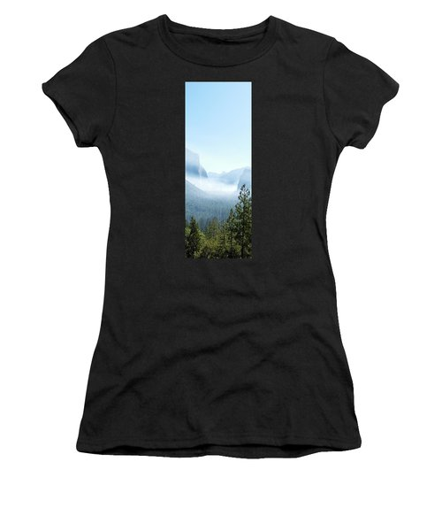 2 Of 4 Controlled Burn Of Yosemite Section Women's T-Shirt