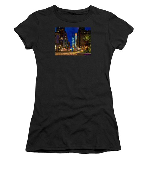 Cool Globes Women's T-Shirt (Athletic Fit)