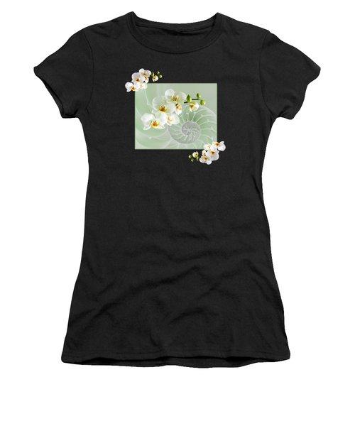 Cool Green Fusion Women's T-Shirt