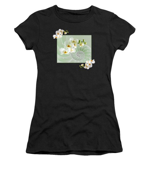 Cool Green Fusion Women's T-Shirt (Athletic Fit)