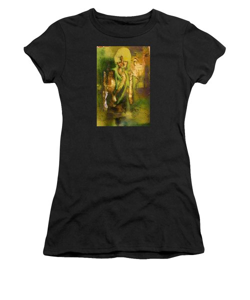 Copper Hair Women's T-Shirt (Athletic Fit)