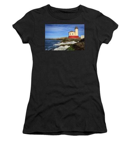 Coquille River Lighthouse At Bandon Women's T-Shirt