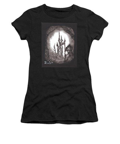 Coral Castle Women's T-Shirt (Athletic Fit)