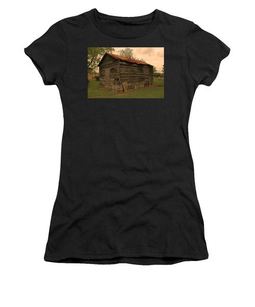 Corn Shed Women's T-Shirt (Athletic Fit)