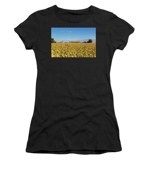 Cornfiled Women's T-Shirt (Athletic Fit)