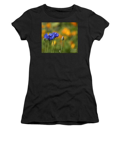 Cornflowers -2- Women's T-Shirt (Athletic Fit)
