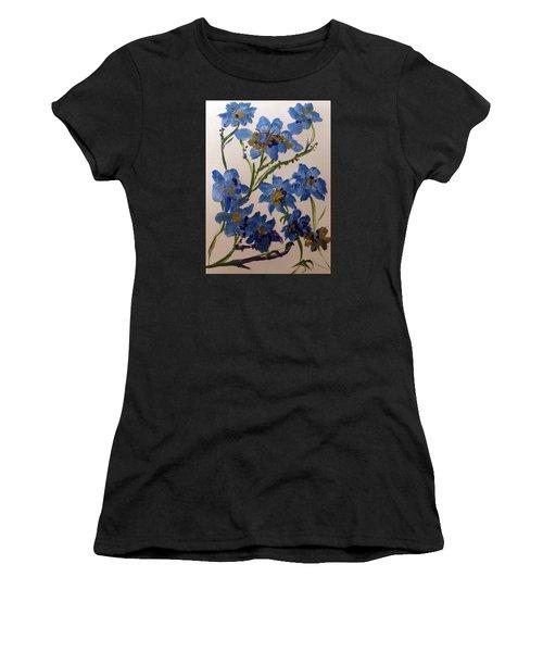 Cornflowers Cousins Women's T-Shirt (Athletic Fit)