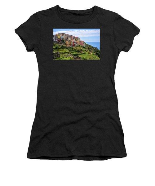 Corniglia Cinque Terre Italy Women's T-Shirt