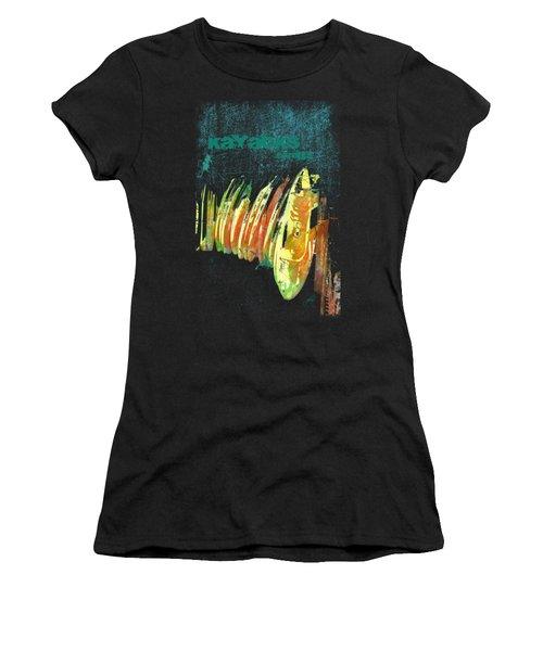 Corolla Kayacks Women's T-Shirt (Athletic Fit)