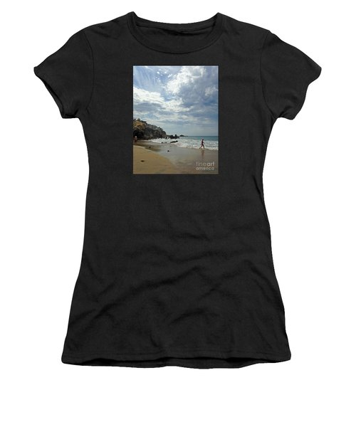 Corona Del Mar 3 Women's T-Shirt (Athletic Fit)