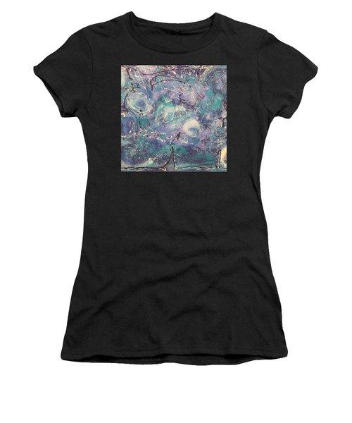 Cosmic Abstract Women's T-Shirt