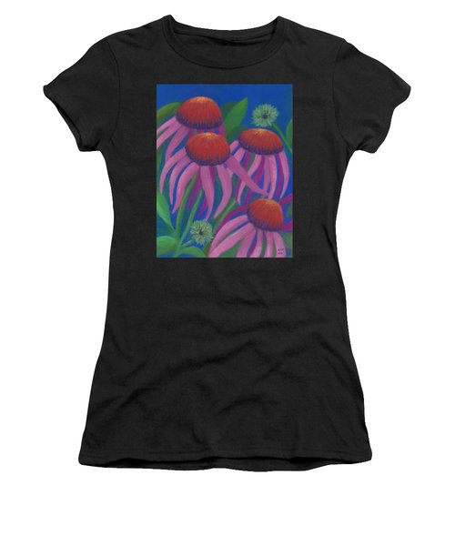 Cosmic Coneflowers Women's T-Shirt