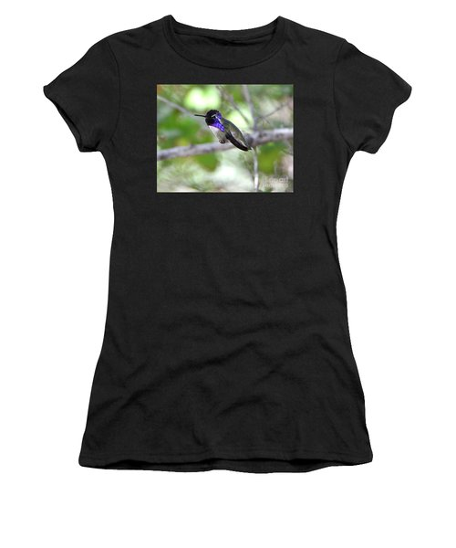 Costa's Hummingbird Women's T-Shirt (Athletic Fit)