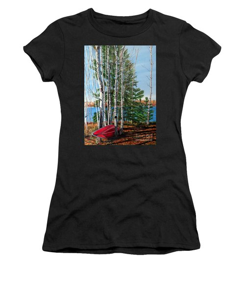 Cottage Country 2 Women's T-Shirt (Athletic Fit)