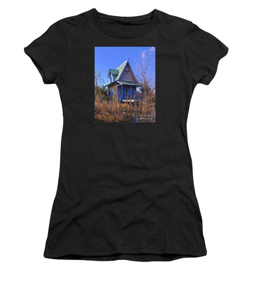 Cottage In The Willows Women's T-Shirt