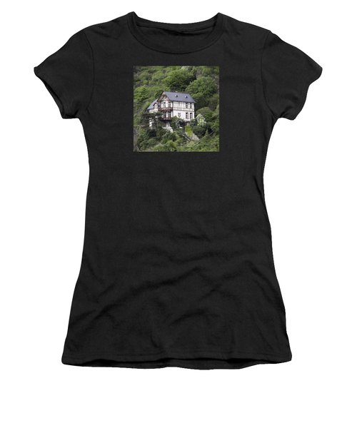 Cottage With A View Women's T-Shirt