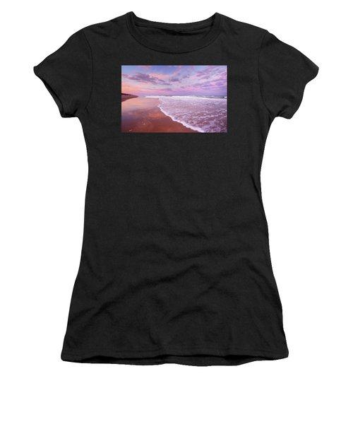 Cotton Candy Sunset. Women's T-Shirt
