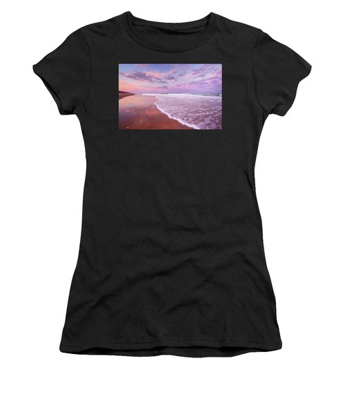 Cotton Candy Sunset. Women's T-Shirt (Athletic Fit)