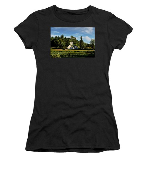 Country Church 003 Women's T-Shirt (Athletic Fit)