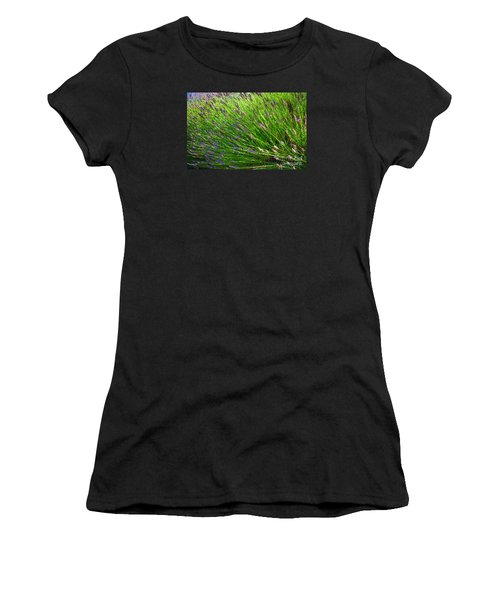 Country Lavender Vi Women's T-Shirt (Athletic Fit)