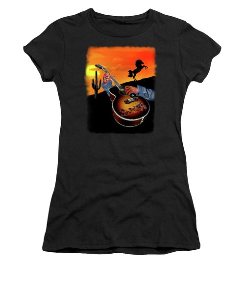 Country Music Women's T-Shirt (Athletic Fit)